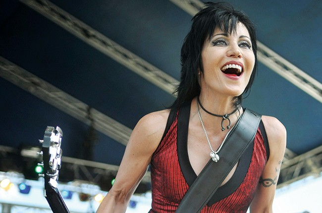 Joan Jett and The Blackhearts perform at the QuickChek New Jersey Festival of Ballooning