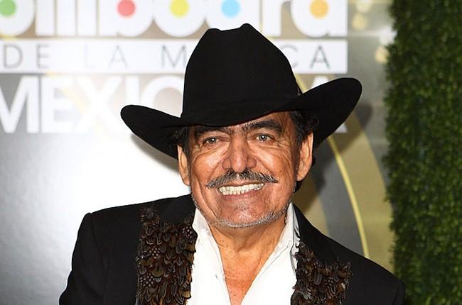 Joan Sebastian at the 2013 Billboard Mexican Music Awards in Hollywood, California.