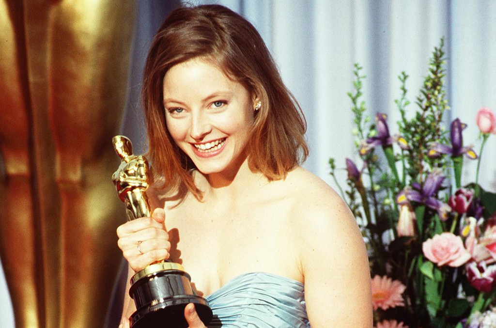 Jodie Foster at the 1989 Oscars