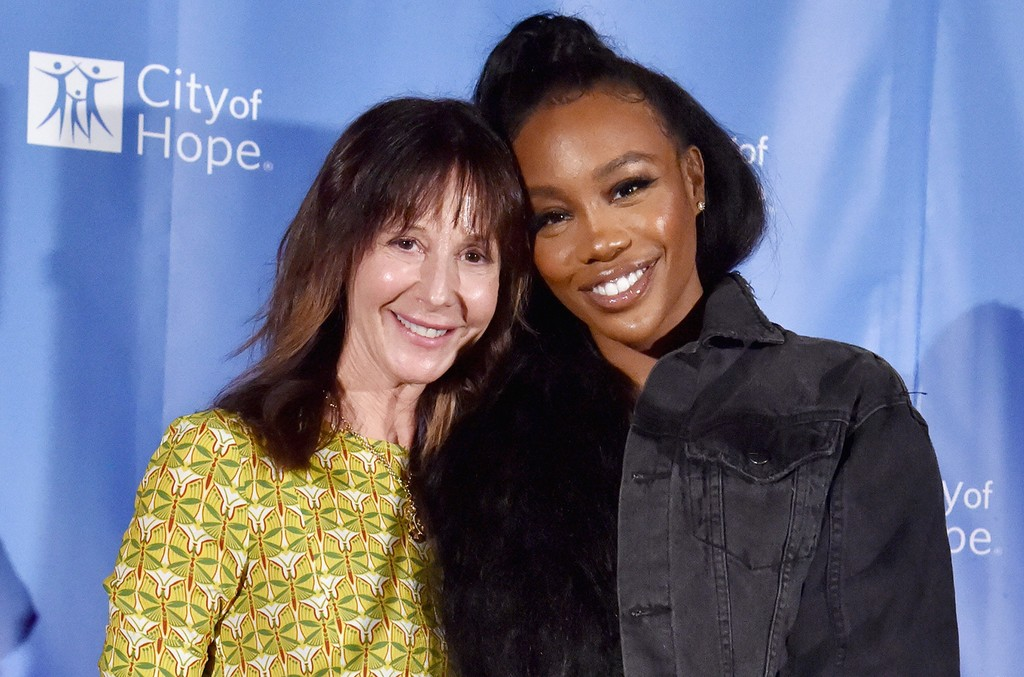 Jody Gerson and SZA