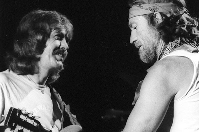 Jody Payne and Willie Nelson, 1979
