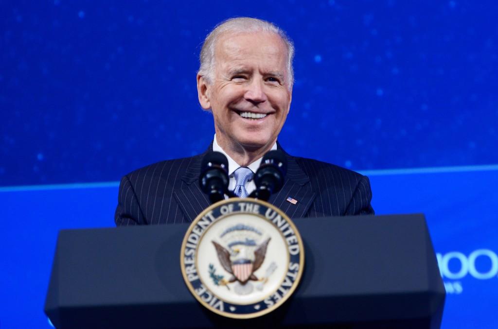 Joe Biden speaks at the Grand Hyatt New York on Oct. 1, 2015 in New York City.