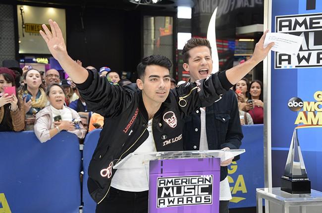"Joe Jonas and Charlie Puth on ""Good Morning America"""