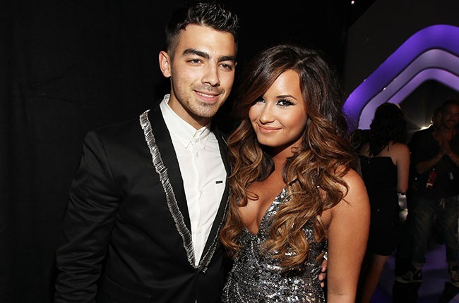 Joe Jonas and Demi Lovato, 2011.