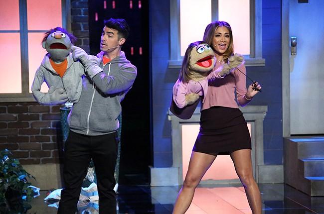Joe Jonas and Nicole Scherzinger