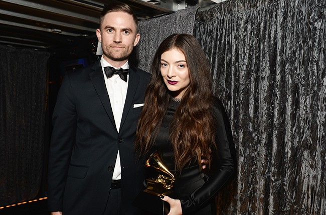 Joel Little and Lorde