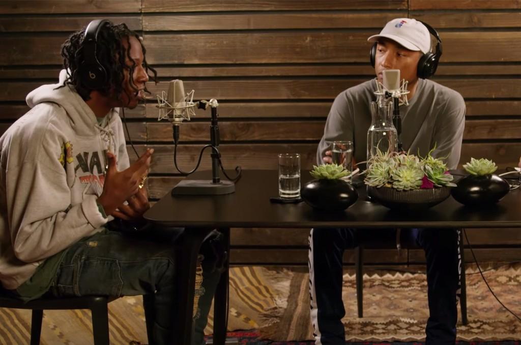 Pharrell interviews Joey Bada$$ on OTHERtone on Beats1 radio.