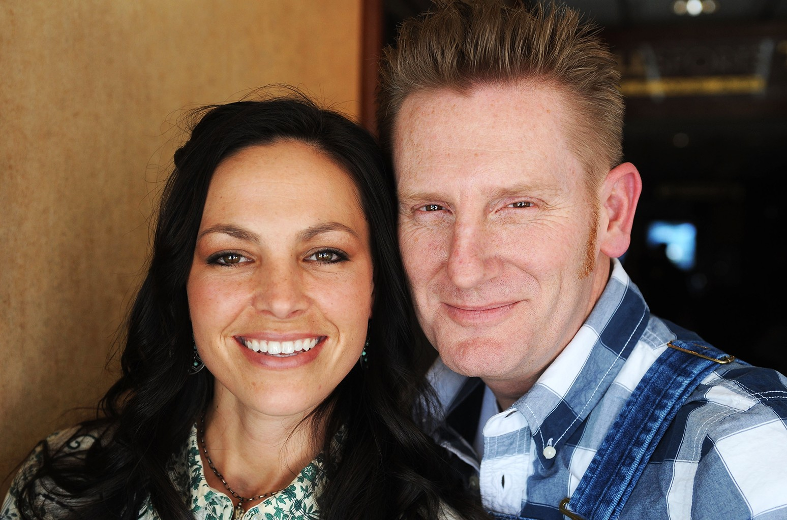 Joey Martin and Rory Feek of Joey + Rory at Stanfield Gallery on Jan. 28, 2010 in Park City, Utah.