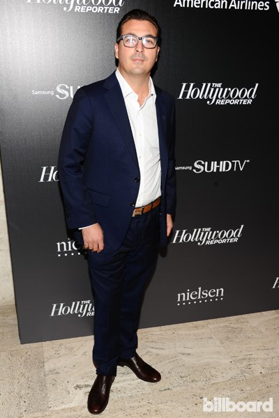 Billboard's John Amato attends The 35 Most Powerful People in Media hosted by The Hollywood Reporter