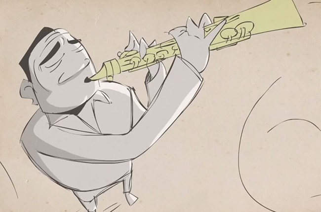 John Coltrane Blank on Blank