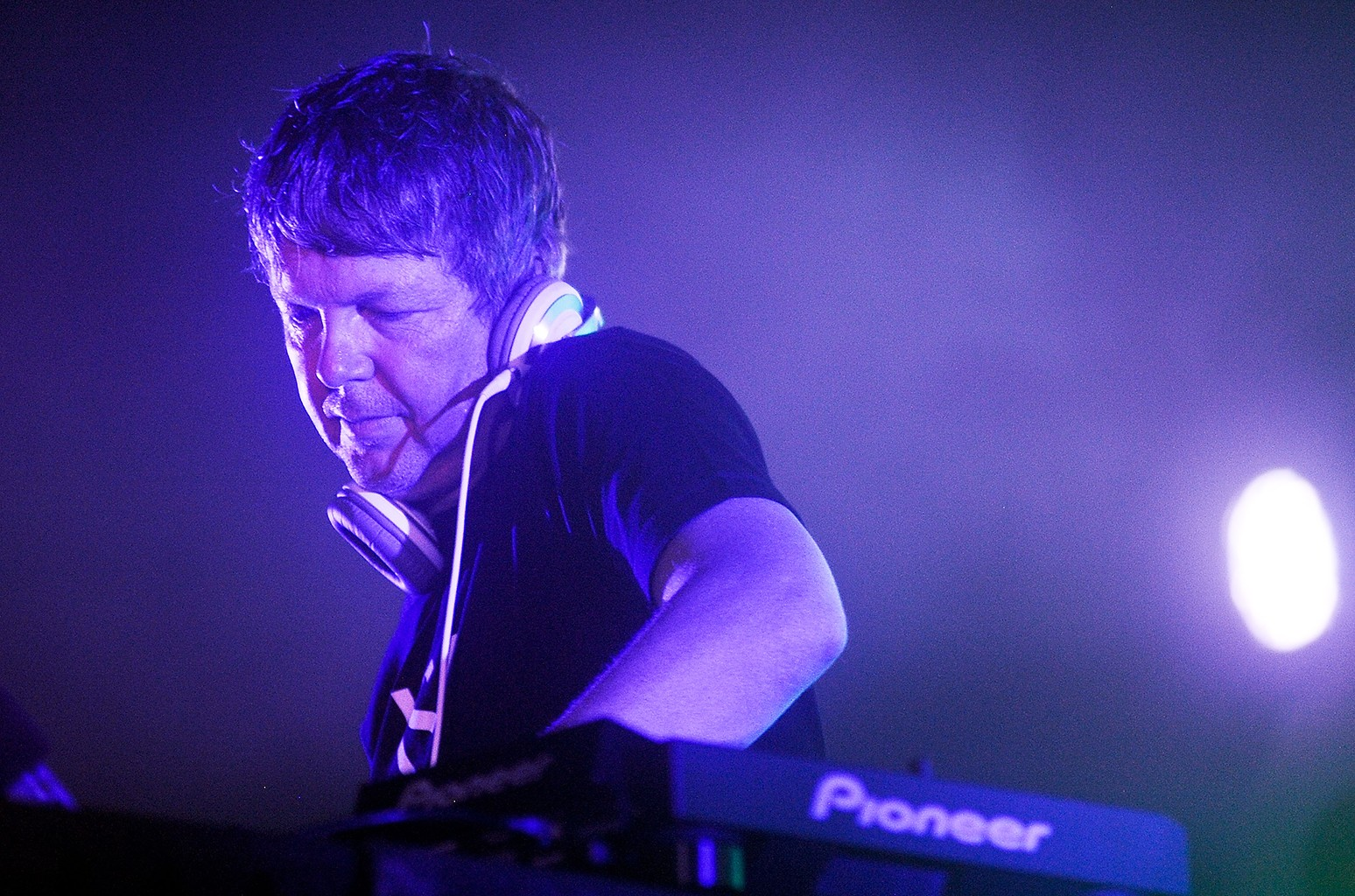 John Digweed performs on Aug. 31, 2013 in New York City.
