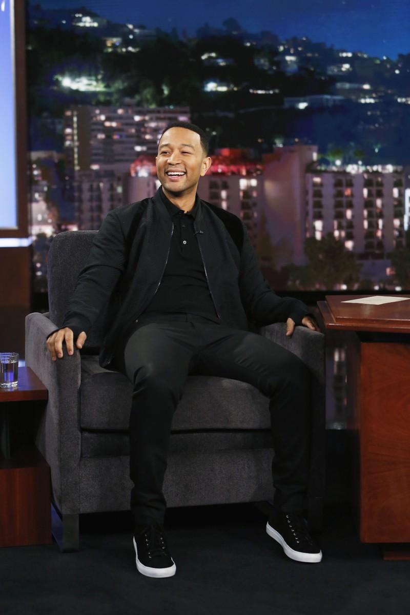 John Legend Jimmy Kimmel Live 2016