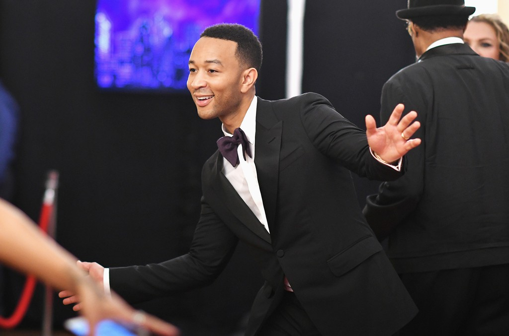 John Legend attends the 2017 Tony Awards at Radio City Music Hall on June 11, 2017 in New York City.