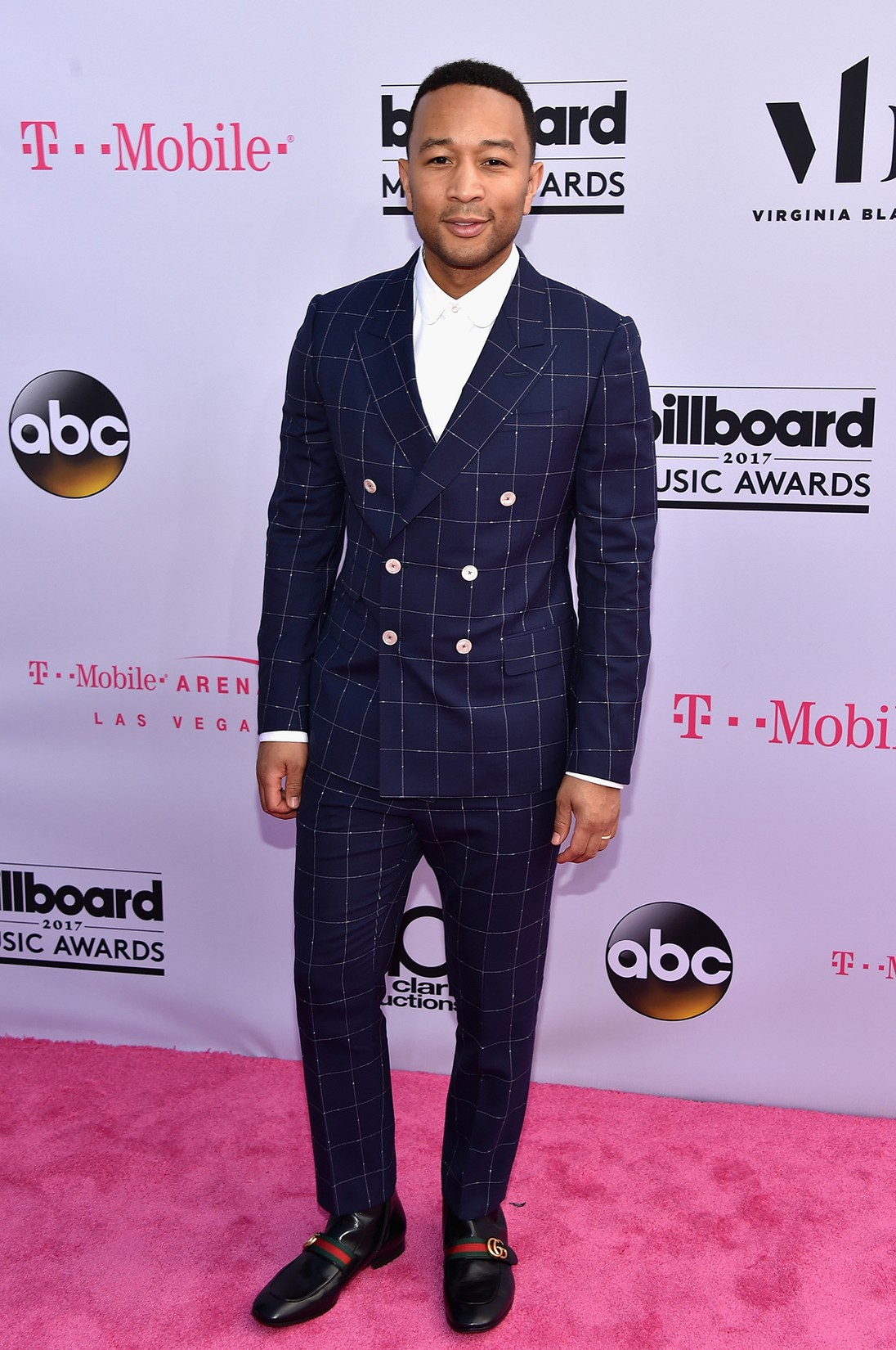 John Legend attends the 2017 Billboard Music Awards at T-Mobile Arena on May 21, 2017 in Las Vegas.