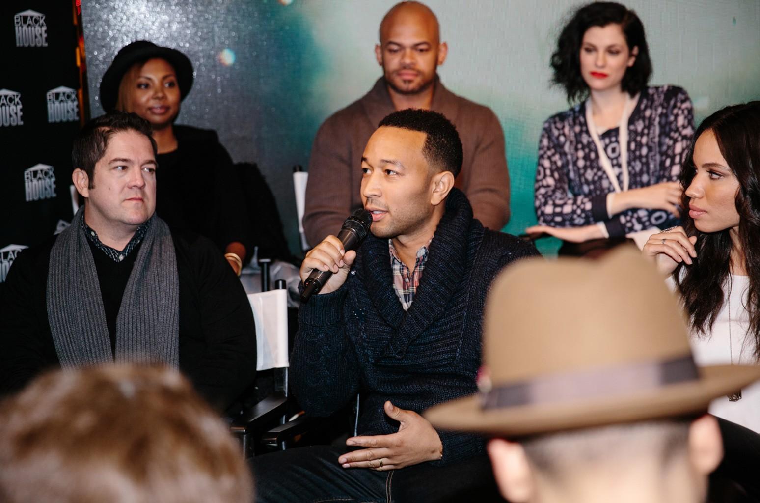 John Legend at Blackhouse Foundation's 2016 Sundance summit.