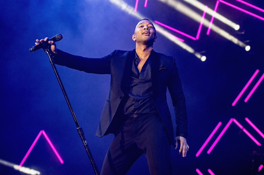 John Legend performs onstage at the 2017 Essence Festival Presented By Coca Cola at the Mercedes-Benz Superdome on June 30, 2017 in New Orleans.