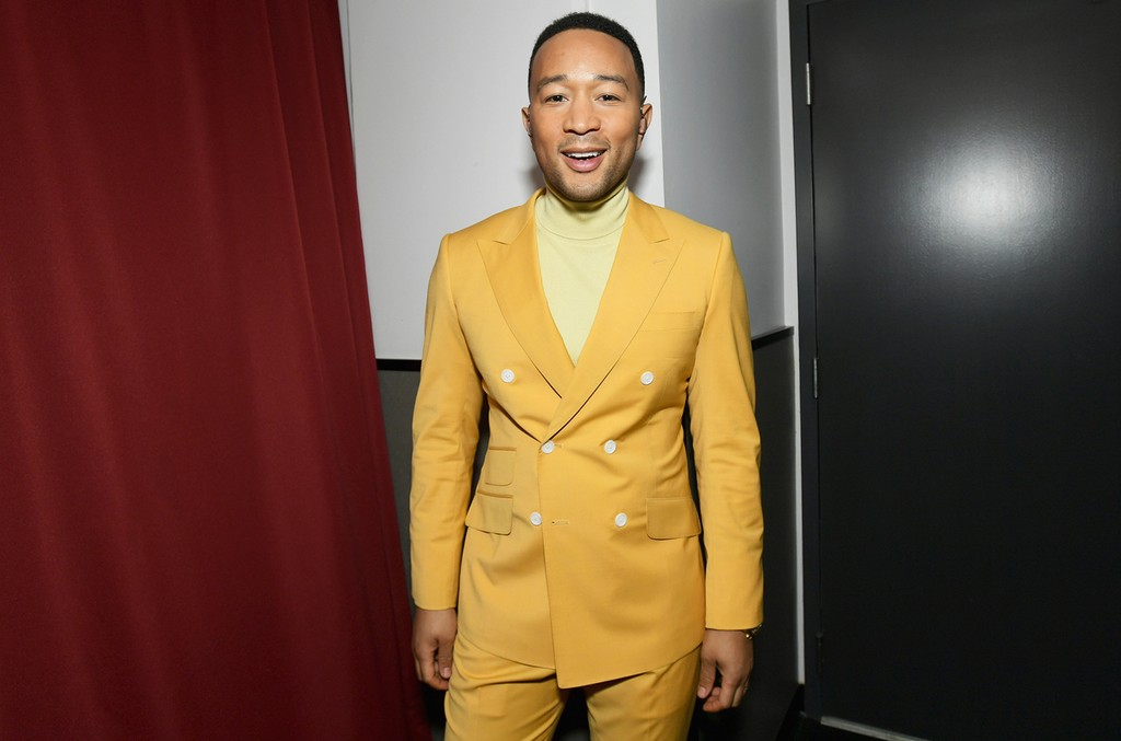 John Legend attends the 2019 iHeartRadio Music Awards which broadcasted live on FOX at Microsoft Theater on March 14, 2019 in Los Angeles, California. (Photo by Emma McIntyre/Getty Images for iHeartMedia)