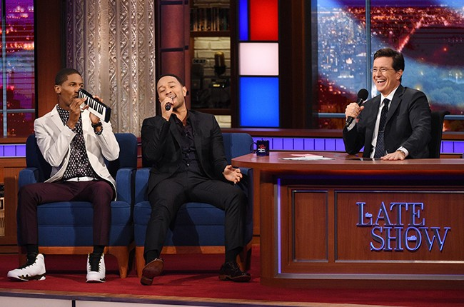 "John Legend on ""The Late Show with Stephen Colbert"""