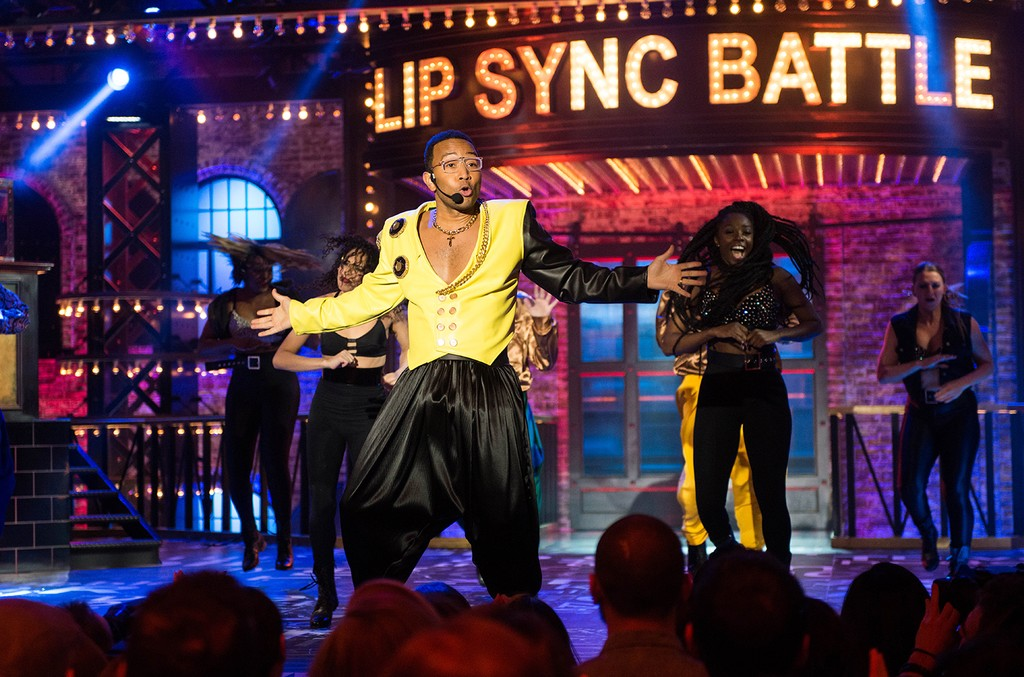 John Legend on Lip Sync Battle.