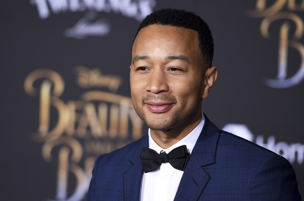 John Legend at the El Capitan Theatre on March 2, 2017 in Los Angeles.