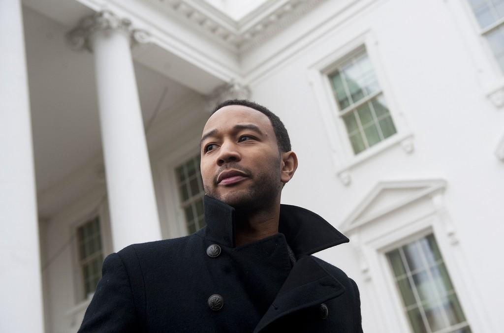 John Legend at the White House
