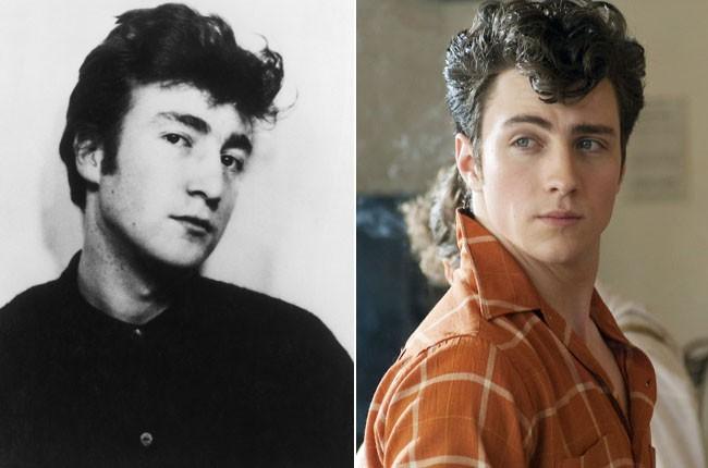 John Lennon and Aaron Johnson-Taylor as John Lennon