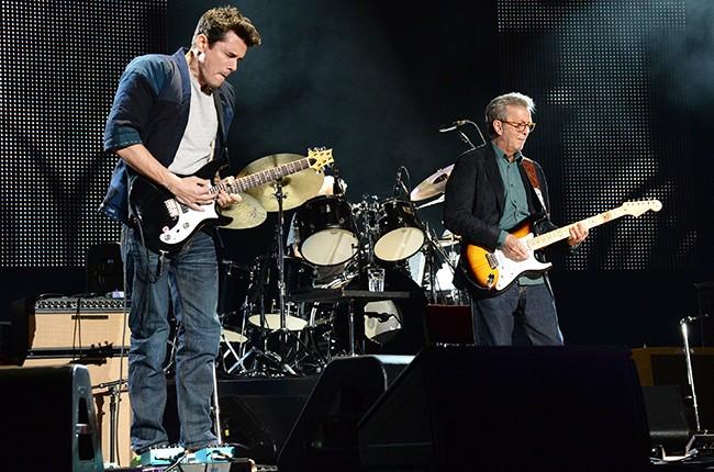 John Mayer and Eric Clapton