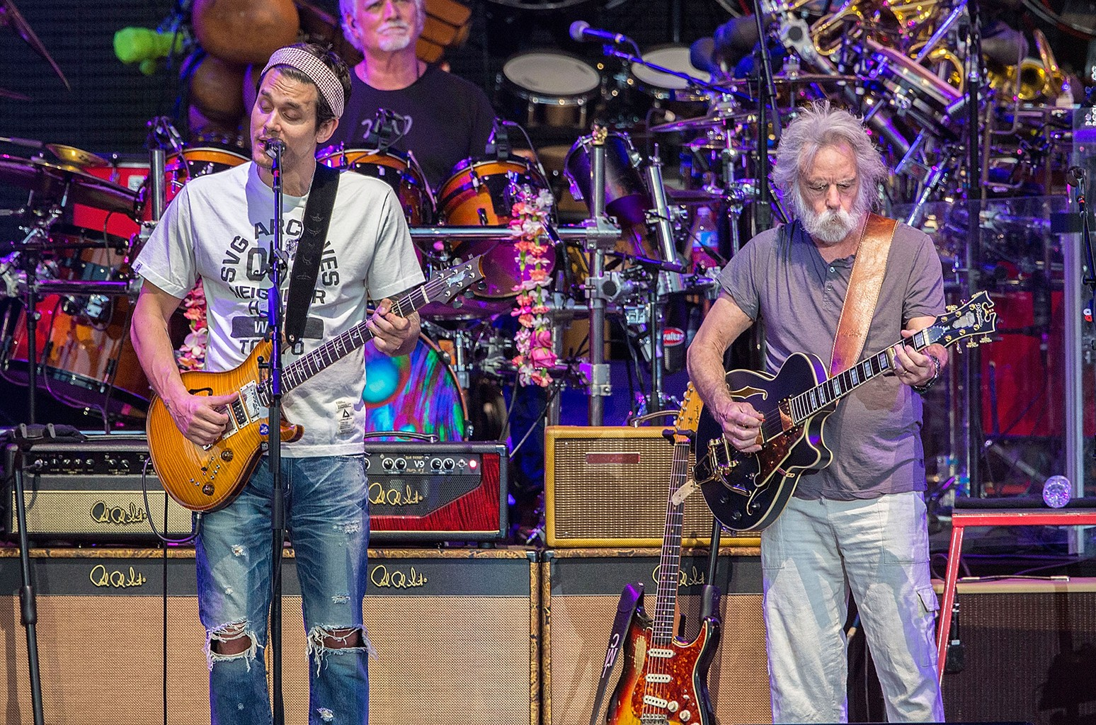 John Mayer and Bob Weir of Dead & Company