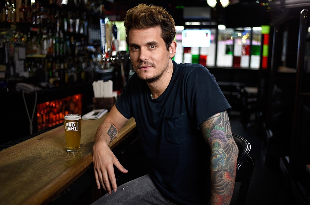 John Mayer prepares for his upcoming Dive Bar Tour with Bud Light on June 27, 2017 in New York City.