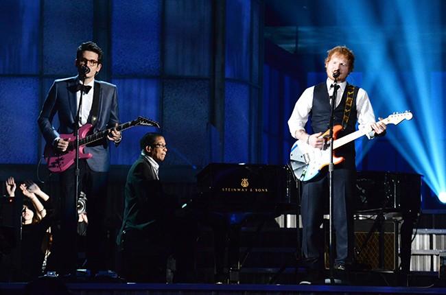 John Mayer and Ed Sheeran