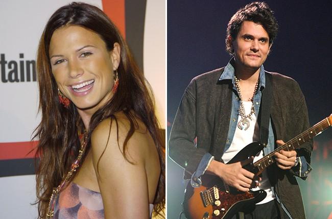 Rhona Mitra and John Mayer