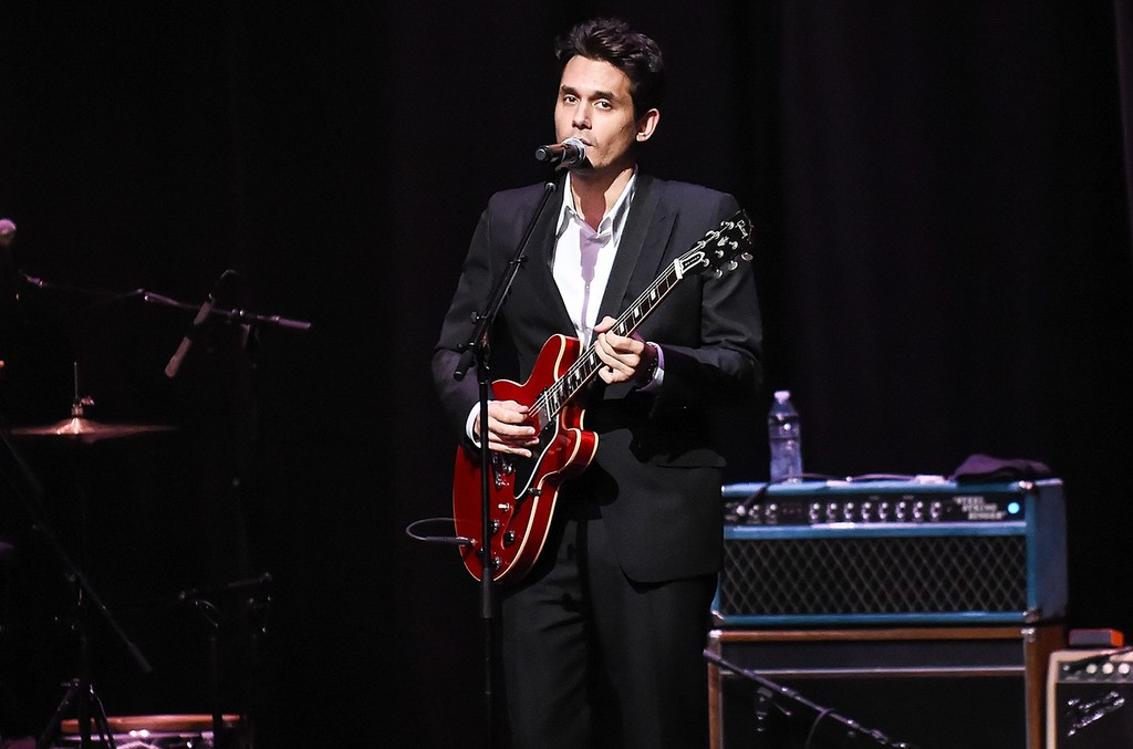 John Mayer performs at The Apollo Theater