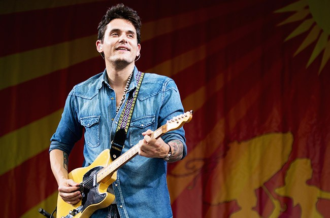 John Mayer performs during the 2013 New Orleans Jazz & Heritage Music Festival