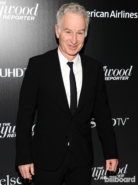 John McEnroe attends The 35 Most Powerful People in Media hosted by The Hollywood Reporter