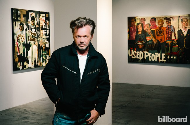John Mellencamp photographed on Oct. 20, 2015 at ACA Galleries in New York.