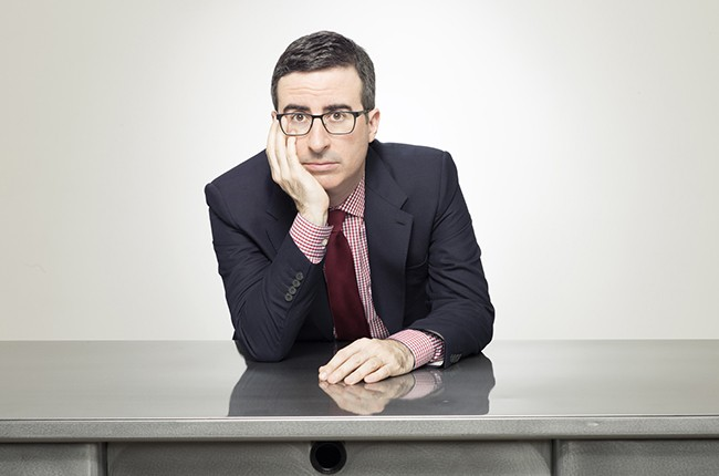 John Oliver from HBO's Last Week Tonight with John Oliver