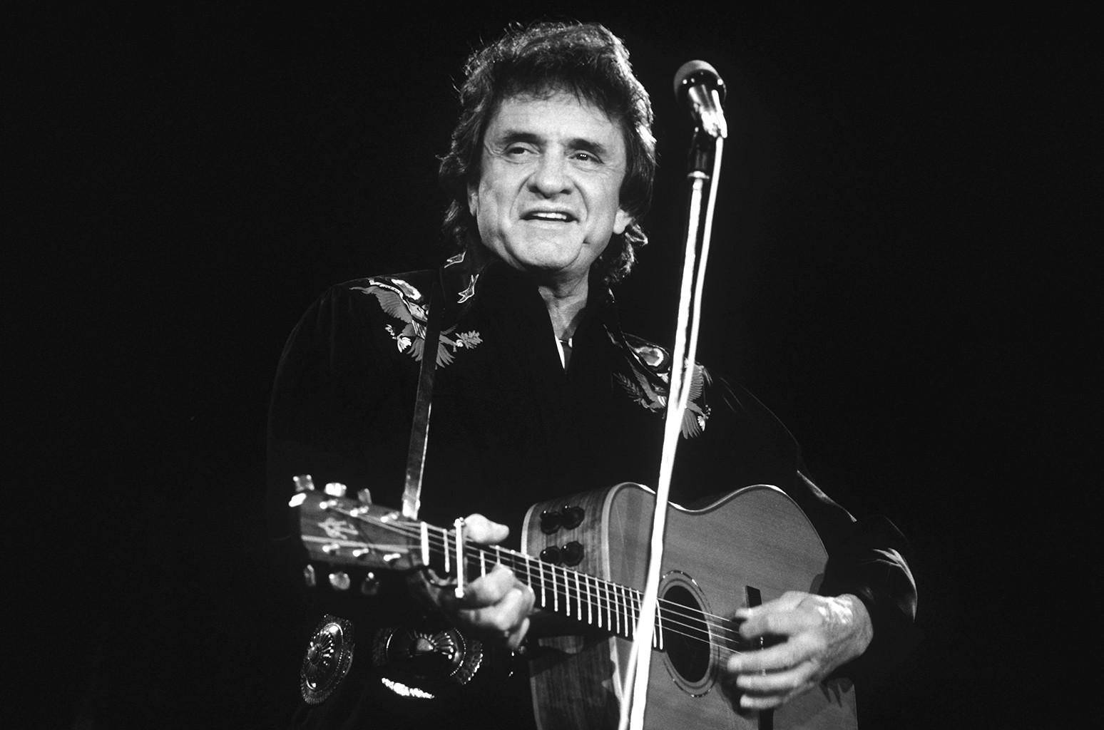 Johnny Cash, 1986