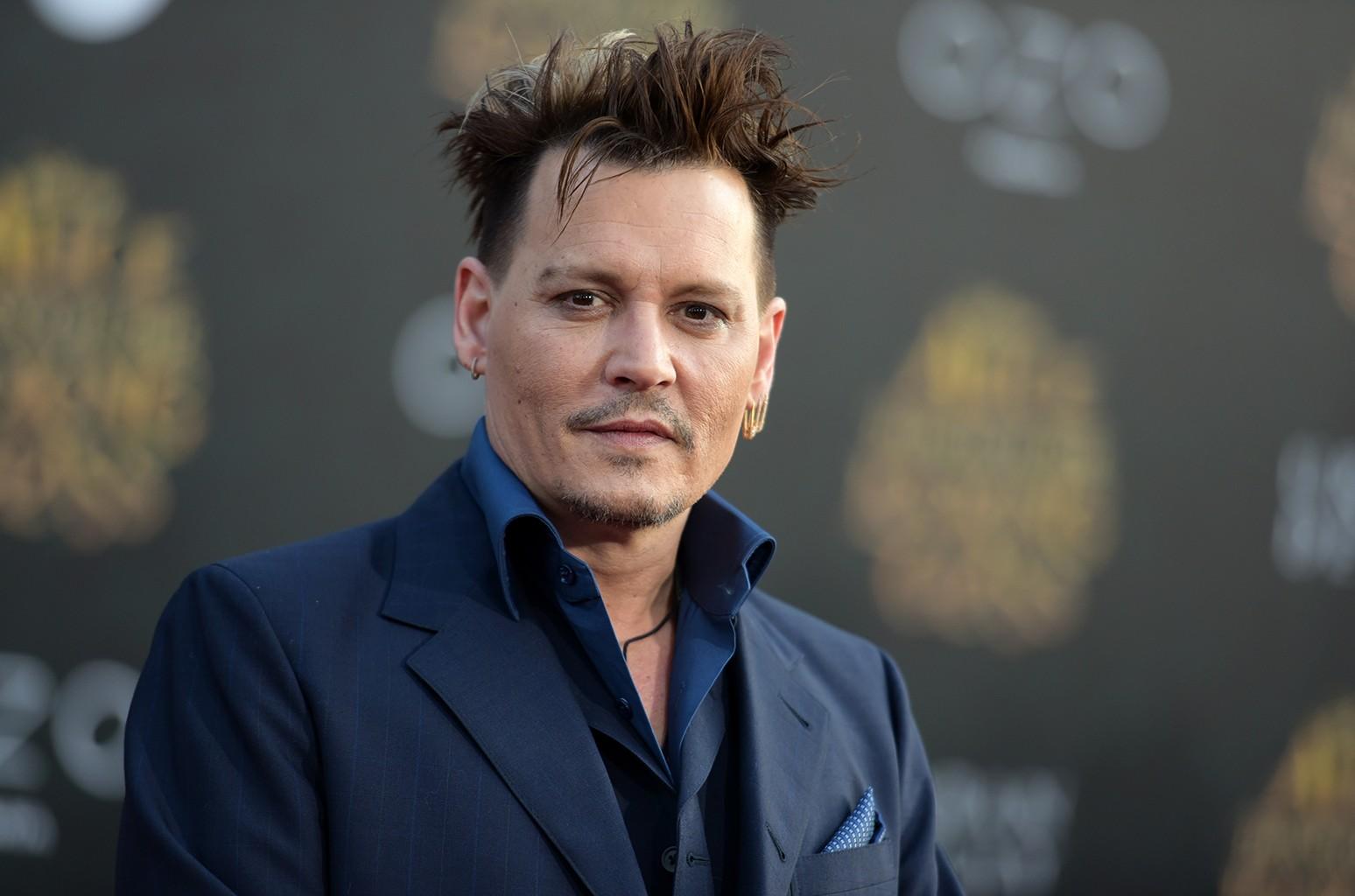 Johnny Depp in 2016