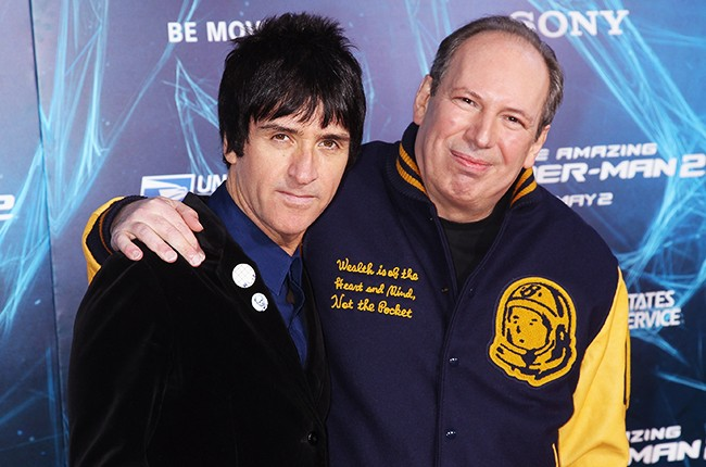 "Johnny Marr and Hans Zimmer at the ""The Amazing Spider-Man 2"" Premiere"