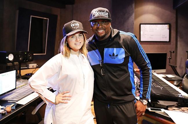 JoJo and producer Harmony Samuels