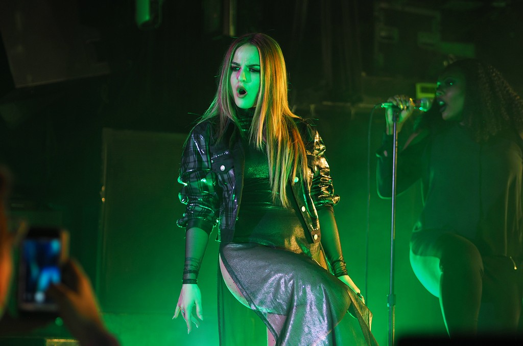 Jojo performs at Irving Plaza in New York City on May 4, 2017.