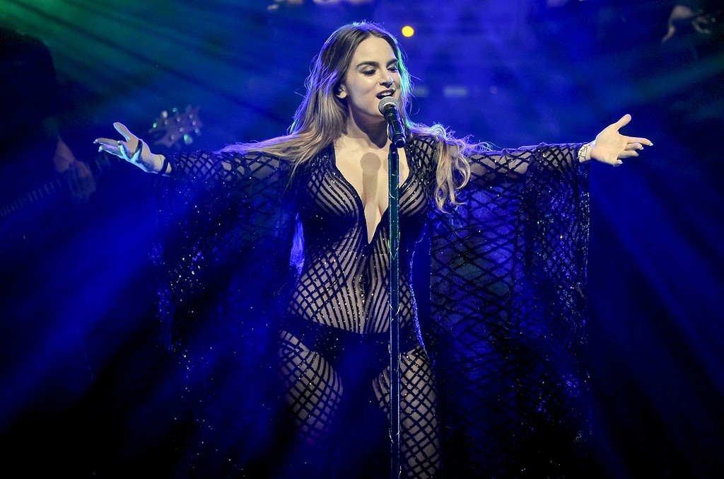 JoJo performs at The Regency Ballroom on Feb. 19, 2017 in San Francisco.