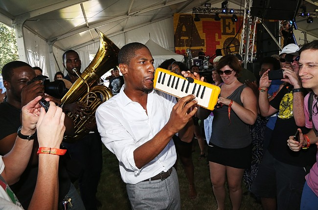 Austin City Limits 2014 -- Jon Batiste of Stay Human