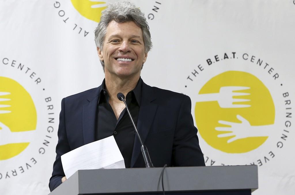 Jon Bon Jovi at the opening of  B.E.A.T. Center