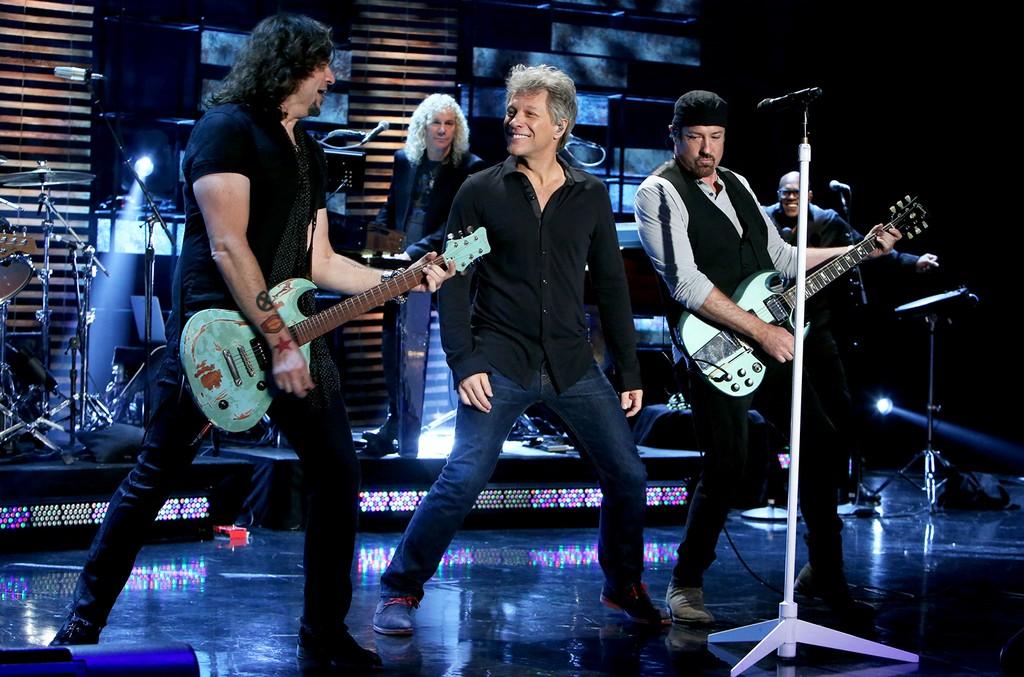 Jon Bon Jovi performs on The Ellen DeGeneres Show