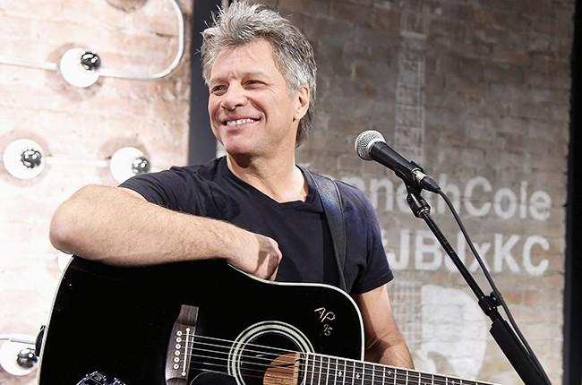 Jon Bon Jovi performs at the Jon Bon Jovi & Kenneth Cole Curated Acoustic Concert
