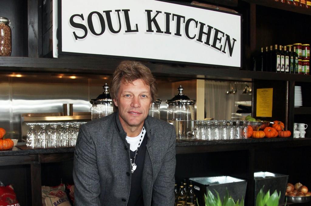 Jon Bon Jovi at the Soul Kitchen