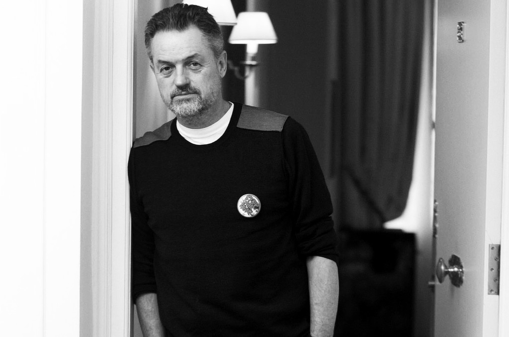 Jonathan Demme photographed in Paris on Jan. 14, 2003.