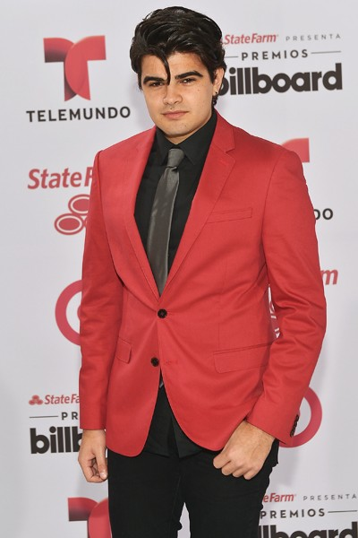 Jonathan Moly arrives at 2015 Billboard Latin Music Awards