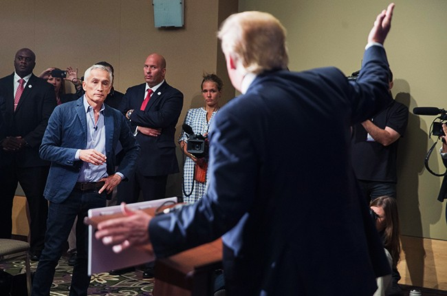 Jorge Ramos Donald Trump 2015